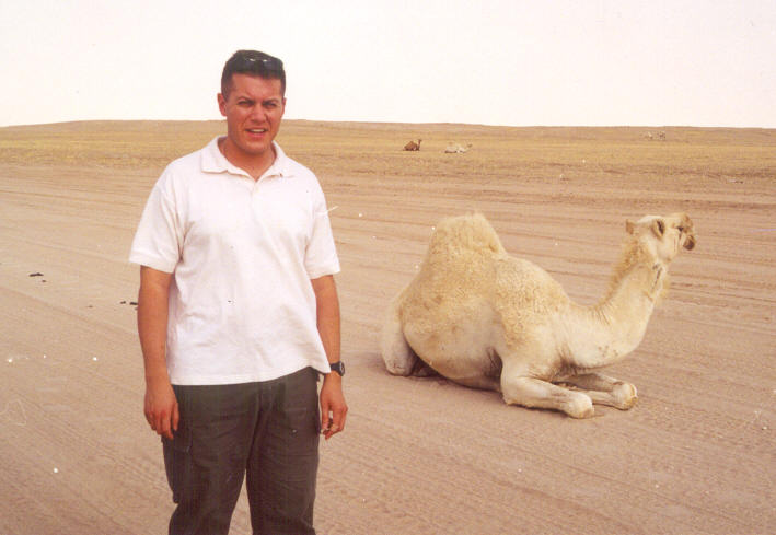 Greg With Camel