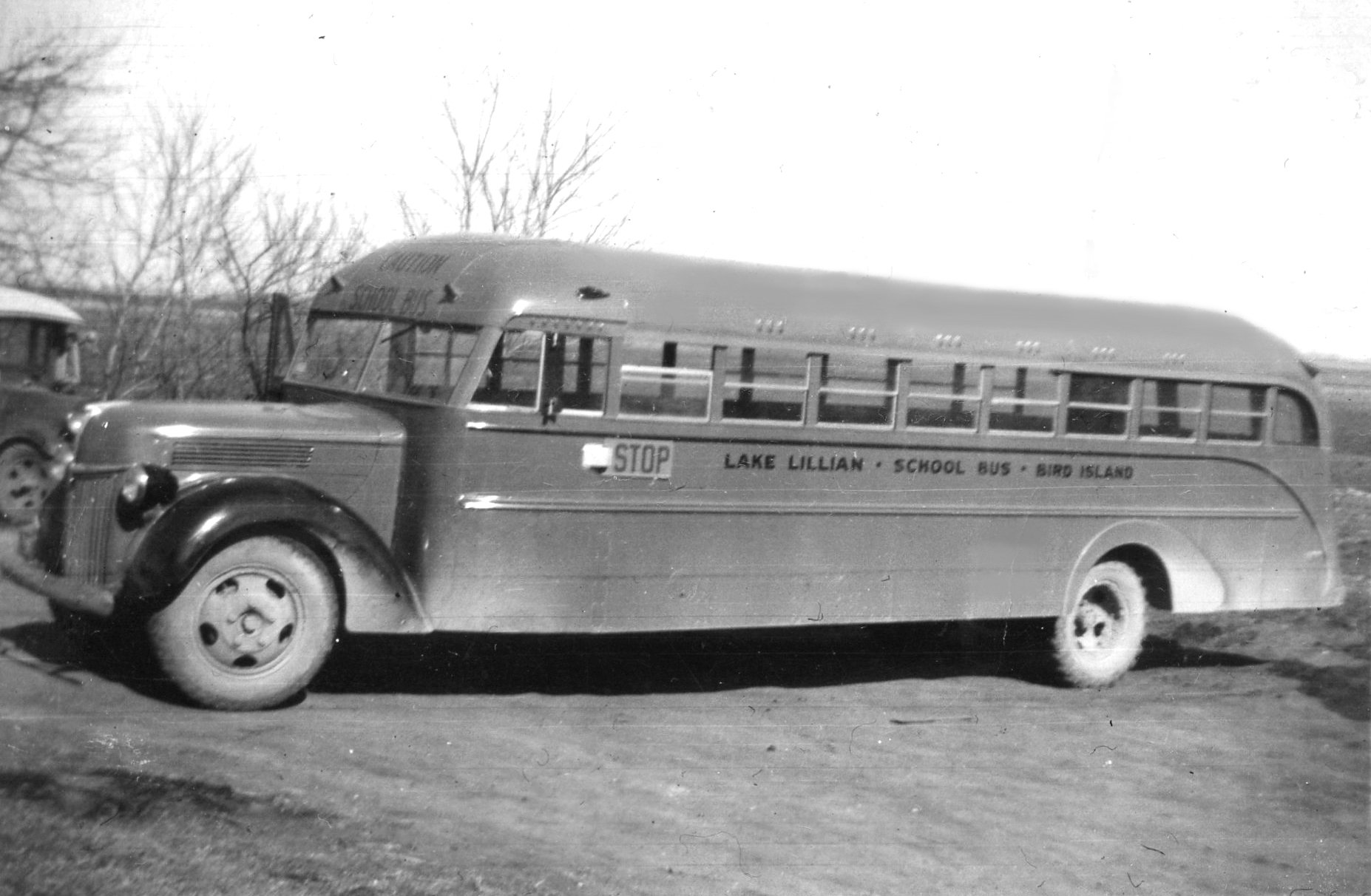 1939 Ford bus