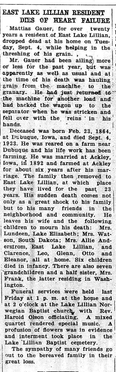 obit Atwater Herald Sep 14 1923