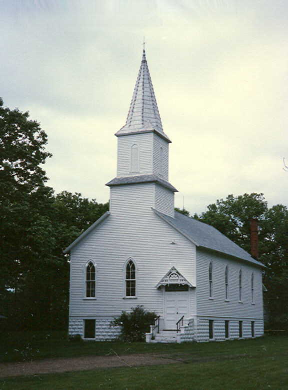 Methodist church in East Lake Lillian